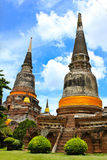 Wat of thai Royalty Free Stock Images