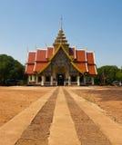 Wat thai. In lamphun nort of thailand stock image