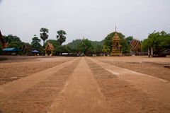 Wat thai. In lamphun nort of thailand royalty free stock image