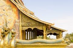 Wat Thai-Architektur Lizenzfreie Stockfotos