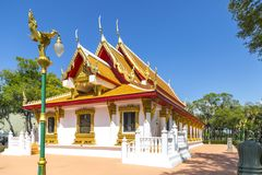 Wat Thai Temple. The Wat Thai Buddhist temple in Tampa, Florida Royalty Free Stock Image