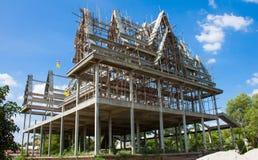 Wat Thai Construction Fotos de Stock Royalty Free