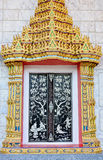 Wat Thai gate style Stock Photos