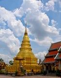 Wat thai. In lamphun nort of thailand royalty free stock photo