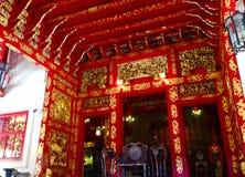 Wat Thai Praratchawang Bangprain Photo stock