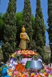 8-26-18 Wat Thai Riverside, Ca foto de archivo