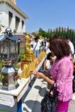 8-26-18 Wat Thai Riverside, Ca imágenes de archivo libres de regalías