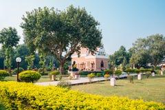 Wat Thai Sarnath Temple en Varanasi, la India fotos de archivo libres de regalías