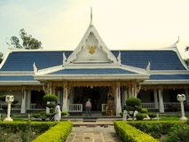 Wat Thai Temple arkivbild