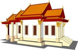 Wat Thai Temple Imagem de Stock
