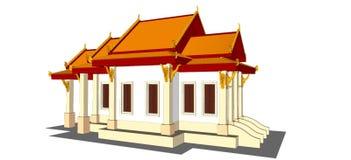 Wat Thai Temple Stockfotos
