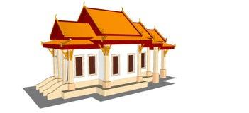 Wat Thai Temple Lizenzfreie Stockfotos