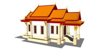 Wat Thai Temple Stockfoto