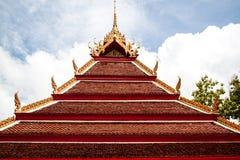 Wat Thai Temple Royaltyfri Fotografi
