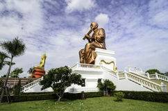 Wat thailand. Wat is a Buddhist sacred precinct with a vihara Royalty Free Stock Photo
