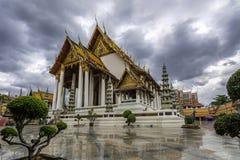 Wat ThaiLand skönheten av kultur arkivbilder