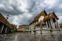 Wat ThaiLand skönheten av kultur arkivfoton
