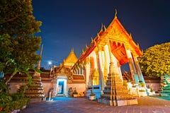 wat thailandia bangkok po Стоковая Фотография