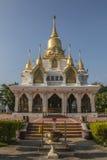 Wat Thaise kushinara chalermraj, kushinagar Uttar Pradesh India Royalty-vrije Stock Fotografie