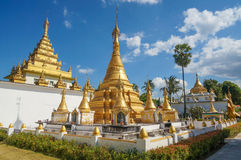 Wat Thaiwatthanaram Temple Immagine Stock