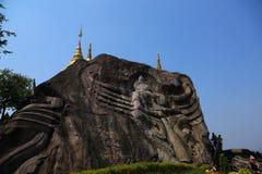 Wat Tham Pha Daen, Sakon Nakhon, Thailand Stock Foto's