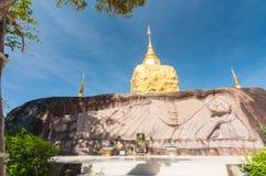 Wat Tham Pha Daen, Sakon Nakhon,Thailand Royalty Free Stock Photo