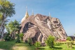 Wat Tham Pha Daen, Sakon Nakhon,Thailand Royalty Free Stock Image