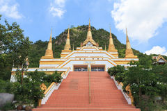 寺庙命名Wat Tham Phra那位Khao普朗 库存图片