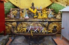 Wat Tham Sua σε Krabi Στοκ Φωτογραφίες