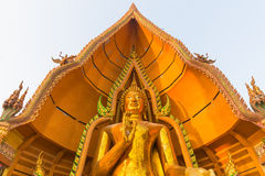 Wat tham sua. Buddha statue in Wat Tham Sua, Kanchanaburi, Thailand Royalty Free Stock Image