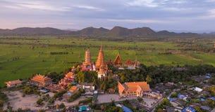 Wat Tham Sua, het District van Tha Muang, Kanchanaburi, Thailand Stock Foto