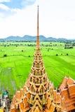 Wat Tham Sua, Kanchanaburi, Tajlandia fotografia royalty free