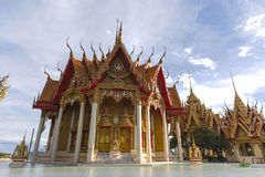 Wat Tham Sua in Kanchanaburi Royalty Free Stock Images