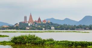 Wat Tham Sua-kanchanaburiprovincie, Thailand Royalty-vrije Stock Afbeeldingen