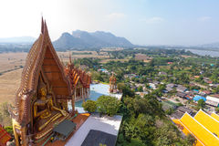 Wat Tham Sua, Kanchanburi, Thailand Royalty Free Stock Photos
