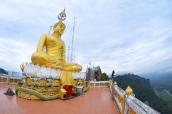 Wat Tham Sua in Krabi Lizenzfreies Stockfoto