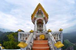 Wat Tham Sua in Krabi. The Wat Tham Sua, or Tiger Cave Temple, in Krabi, Thailand stock image