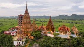 Wat Tham Sua, secteur de Tha Muang, Kanchanaburi, Thaïlande Photo stock