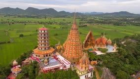 Wat Tham Sua, secteur de Tha Muang, Kanchanaburi, Thaïlande Images stock