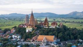 Wat Tham Sua, secteur de Tha Muang, Kanchanaburi, Thaïlande Photos stock