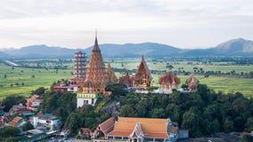 Wat Tham Sua, secteur de Tha Muang, Kanchanaburi, Thaïlande Photo libre de droits
