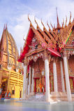 Wat Tham Sua, tempel van Thailand. Royalty-vrije Stock Fotografie