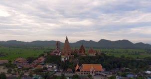 Wat Tham Sua, Tha Muang okręg, Kanchanaburi, Tajlandia zbiory wideo