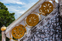 Wat Tham Sua. Top of the Wat Tham Sua temple in Thailand Royalty Free Stock Photos