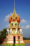 Wat Tham Suea.  Kanchanaburi Stock Photo