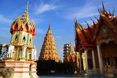 Wat Tham Suea.  Kanchanaburi Stock Photos