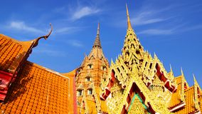 Wat Tham Suea.  Kanchanaburi. Thailand Royalty Free Stock Images