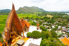 Wat Tham Suea stock image