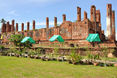 Wat Thammikarat Arkivbild
