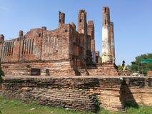 Wat Thammikarat Ayutthaya Images libres de droits